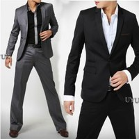 Men's Slim Fit Fashion Suit