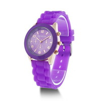 Summer Candy Color Silicone Sports Watch