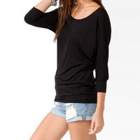Banded Dolman Top | FOREVER 21 - 2030188012