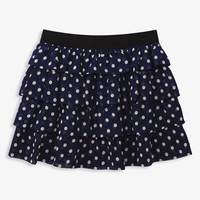 Ruffled Polka Dot Skirt | FOREVER 21 - 2028123225