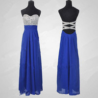 Cheap New Style 2013 Glamorous High quality beads Chiffon satin Prom Dresses from 2013 New Dresses