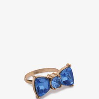 Duo-Tone Bow Ring | FOREVER21 - 1044185604