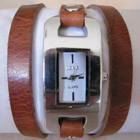 Handmade Bracelet Wrap Watch - 2013 New Orlogin Style Design FREE SHIPPING