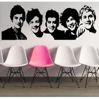 "Amazon.com: ONE DIRECTION GROUP ~ ONE DIRECTION: WALL DECAL, HOME DECOR 13"" X 35"": Everything Else"