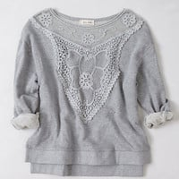 Lattice Bib Sweatshirt