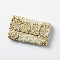 Woven Fireworks Clutch