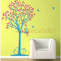 Nersury  wall decal wall sticker tree decal by walldecals001