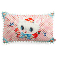 Cat Miss It Pillow | Mod Retro Vintage Decor Accessories | ModCloth.com