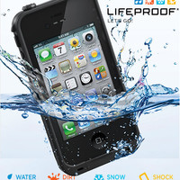 New Lifeproof for iphone 4 / 4S Waterproof Dirtproof Snowproof Shockproof Case from Exebay