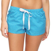 Dotted Hearts PJ Shorts