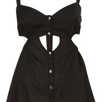 Petite Cutout Suntop - Petite Tops - Topshop USA