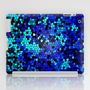 STAINED GLASS BLUES iPad Case by catspaws | Society6