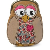 Owl Patchwork Purse