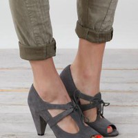 Poseidon Peep Toe Oxford by Vaneli - $72.00