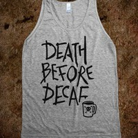DEATH BEFORE DECAF (TANK)