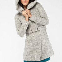Riding Hood Coat in Charcoal :: tobi