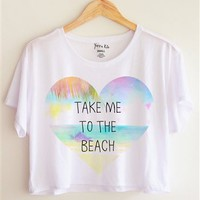 Take me to the beach!