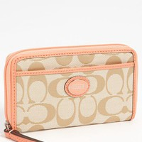COACH 'Signature' Universal Phone Case | Nordstrom