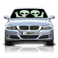 Aliens Double-Sided Car Sunshade : Amazon.com : Automotive