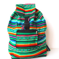 Tribal Fabric Backpack Pocket, Peru by sweetllamasupplies