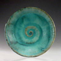 Spiral Bowl by Daniel Slack: Ceramic Bowl - Artful Home