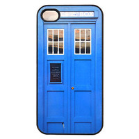 iPhone 4 Case Blue Tardis Call Box