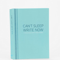 Cant Sleep Write Now Journal