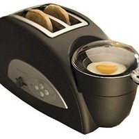 Back to Basics TEM500 Egg-and-Muffin 2-Slice Toaster and Egg Poacher: Kitchen & Dining