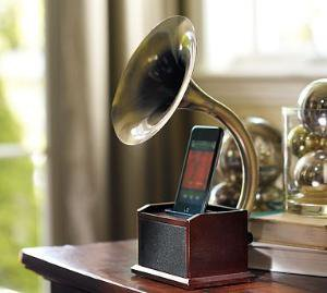 Gramaphone iPod Station
