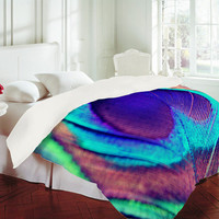 DENY Designs Home Accessories | Shannon Clark Pretty Peacock Duvet Cover