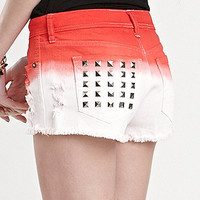 Kendall &amp; Kylie Dip Dye Shorts at PacSun.com