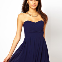 TFNC Prom Dress in Pleated Chiffon at asos.com