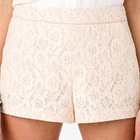 High-Waisted Lace Shorts | FOREVER 21 - 2028498078