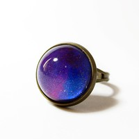 Galaxy Vintage DIY Ring from Charming Galaxy