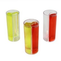 Shot Glass Split with Chaser - Splitshooters - 20 Pack - Perfect for Parties, Birthdays and Weddings!