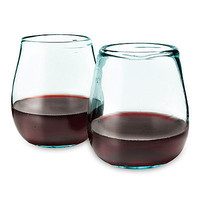 RECYCLED WINE GLASSES | Stemless Wine Glasses | UncommonGoods