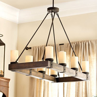 Arturo 8 Light Chandelier | Ballard Designs
