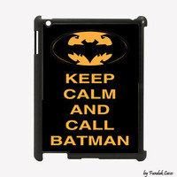Ipad Case Keep Calm and Call Batman for Ipad 2 by Fundakipadcases