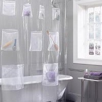Pocket Shower Curtains - OpulentItems.com