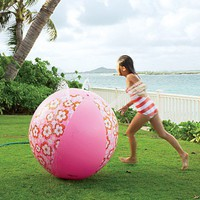 Hibiscus Beach Ball Sprinkler