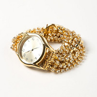 Sparkling Strands Wrap Watch
