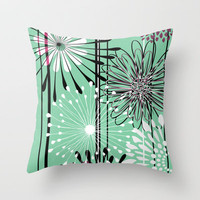 Envy Throw Pillow by RDelean
