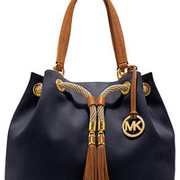 MICHAEL Michael Kors Handbag, Marina Large Gathered Tote - Handbags &amp; Accessories - Macy&#x27;s