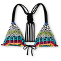 Malibu Tribal Weave Triangle Bikini Top