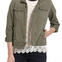 Anthropologie - Current/Elliott Repaired Army Jacket