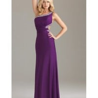 One Shoulder Beading Ruching Chiffon Prom Dress [dressca7770] - £94.16 : dressca.com!, custom made wedding dresses