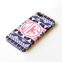 Personalized Aztec iphone 5 Case Monogram iphone 5 by IsolateCase