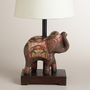Indian Elephant Accent Lamp Base | World Market
