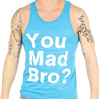 Guys 'You Mad Bro' Tank