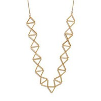 Golden Trapeze Necklace - music festival favorites - Women's NEW ARRIVALS - Madewell
